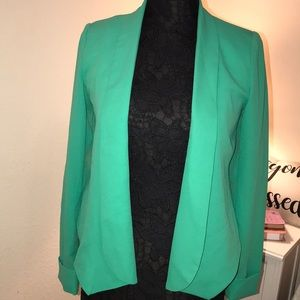 Never Worn Aryn K. Light Teal Blazer - Size Small